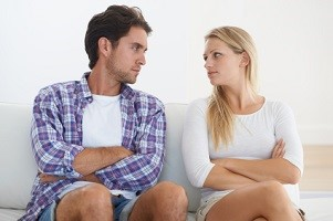 Confrontational couple - relationship issues